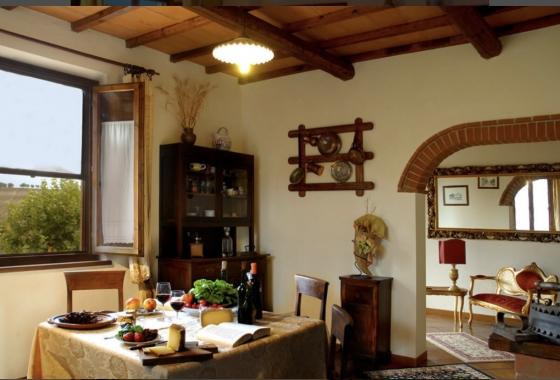 Agri Il Conte 4,5 pers, een van onze vakantiehuizen in Toscane