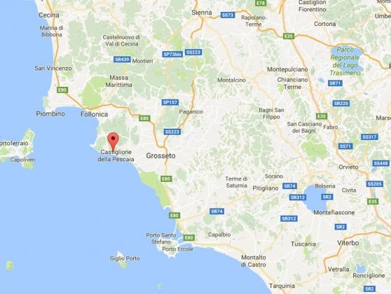 Solemare 4 pers, een van onze vakantiehuizen in Toscane