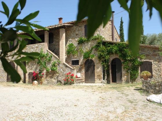 Podere San Gimignano 2,3,4 pers, een van onze vakantiehuizen in Toscane