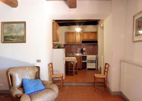 Vakantiehuis Pioppo 4,5,6 pers, een van onze vakantiehuizen in Toscane