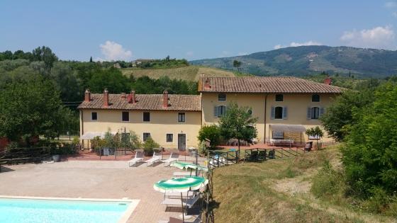 Wijnlandgoed Niccioli 2,4,6,8,10 pers, een van onze vakantiehuizen in Toscane