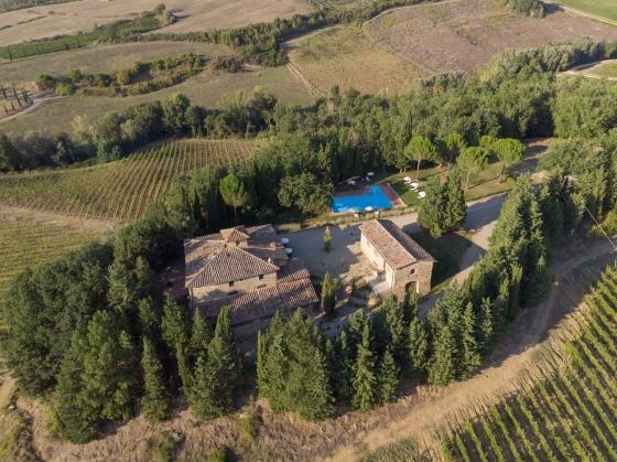 Landgoed Il Prato II 4,6 pers, een van onze vakantiehuizen in Toscane