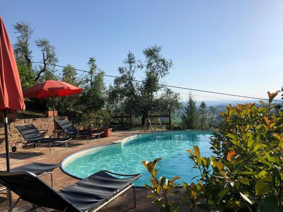 Podere Agricola 2,4 pers, een van onze vakantiehuizen in Toscane