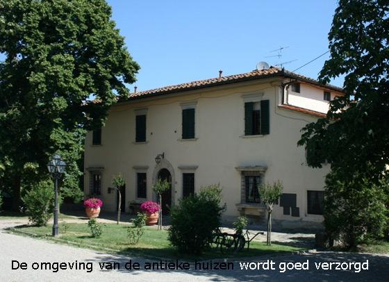 Landgoed Giotto 2,4,6 pers, een van onze vakantiehuizen in Toscane