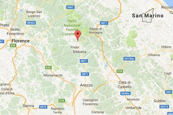 Landgoed Poppi 2,3,4,6 pers, een van onze vakantiehuizen in Toscane