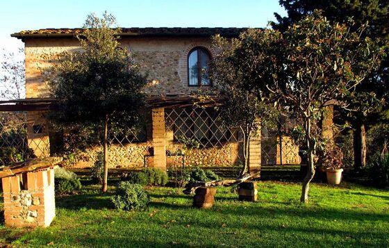 Landhuis Montespertoli 4,5 pers, een van onze vakantiehuizen in Toscane