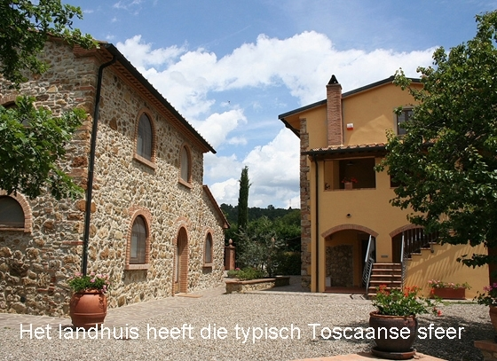 Agri Maremma 2,3,4,5,7 pers, een van onze vakantiehuizen in Toscane