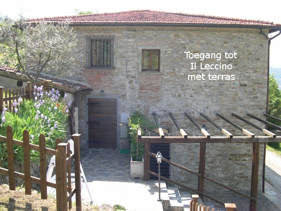 Il Leccino (2 tot 3 pers.), een van onze vakantiehuizen in Toscane