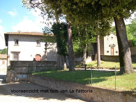 La Fattoria (10 tot 12 pers.), een van onze vakantiehuizen in Toscane
