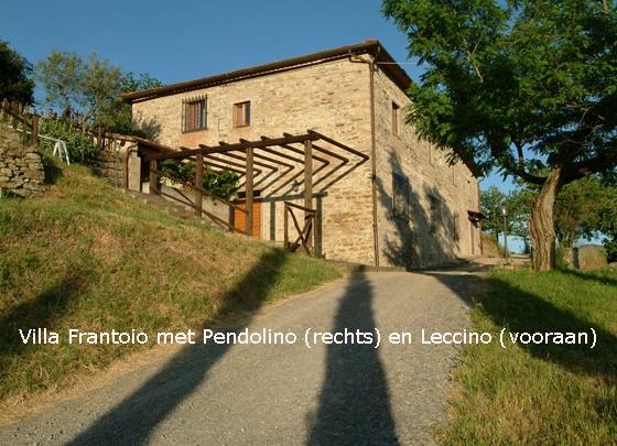 Villa Il Frantoio: Pendolino + Leccino (16 pers.), een van onze vakantiehuizen in Toscane
