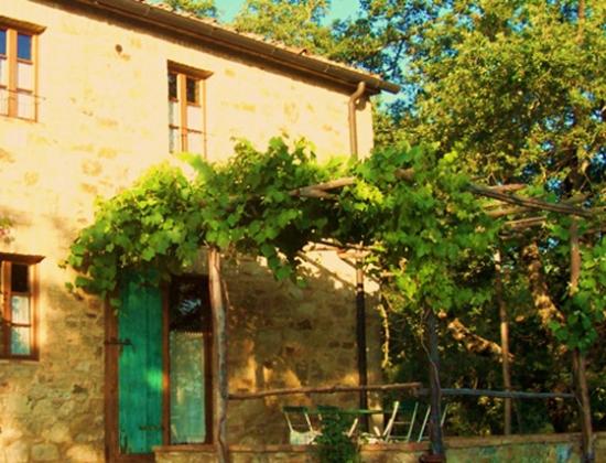 Pergola A (4-5 pers.), een van onze vakantiehuizen in Toscane
