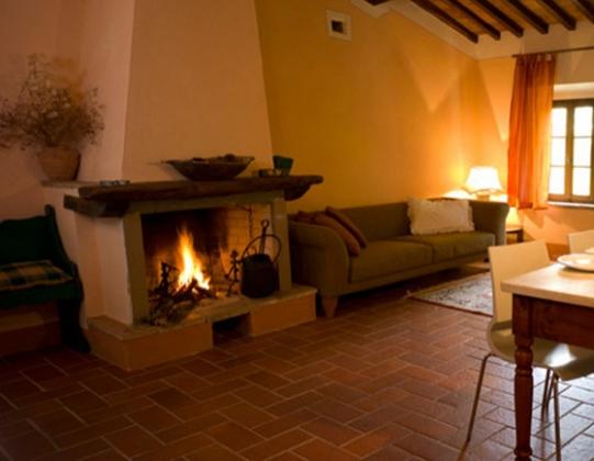 Loggiato B (4 pers.), een van onze vakantiehuizen in Toscane