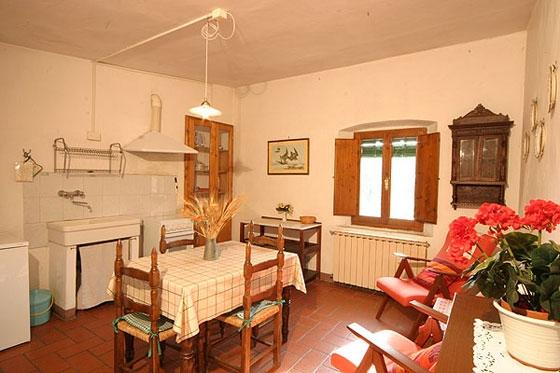 806 (2 pers.), een van onze vakantiehuizen in Toscane