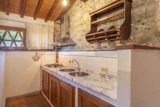 1 slaapkamer 2 tot 4 personen, een van onze vakantiehuizen in Toscane