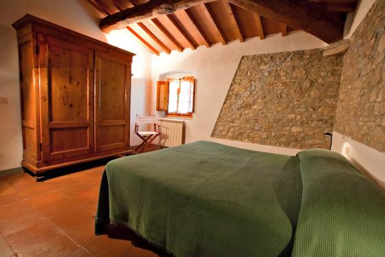 2 slaapkamers 4 tot 6 personen, een van onze vakantiehuizen in Toscane