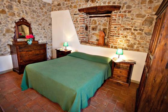 3 slaapkamers 6 personen, een van onze vakantiehuizen in Toscane