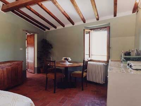 Appartement (2 pers.), een van onze vakantiehuizen in Toscane