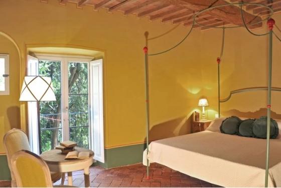 Baldacchino (2 pers.), een van onze vakantiehuizen in Toscane