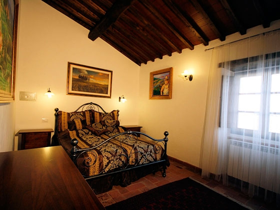 Appartement 1 (4 tot 5 pers.), een van onze vakantiehuizen in Toscane