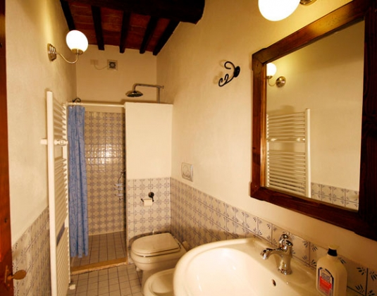 Appartement 4 (4 pers.), een van onze vakantiehuizen in Toscane