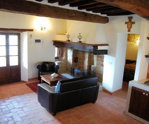 Appartement 5 (2 tot 3 pers.), een van onze vakantiehuizen in Toscane