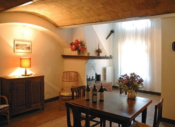 Appartement 9 (4 pers.), een van onze vakantiehuizen in Toscane