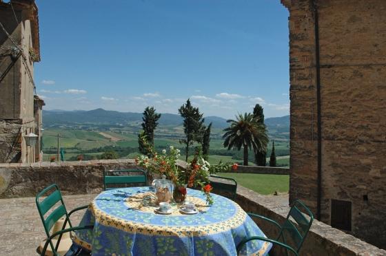 Appartement 7 (6 pers.), een van onze vakantiehuizen in Toscane