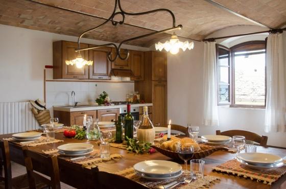 Appartement 10 (4 tot 7 pers.), een van onze vakantiehuizen in Toscane