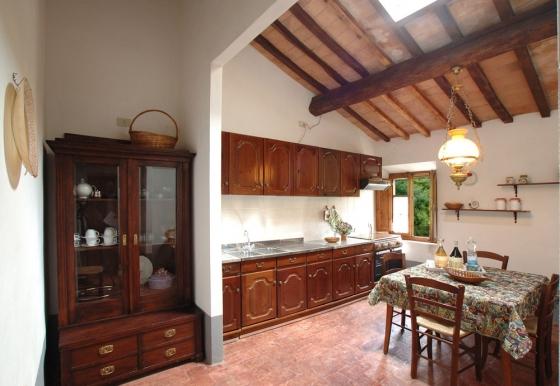 Appartement 14 (4 pers.), een van onze vakantiehuizen in Toscane