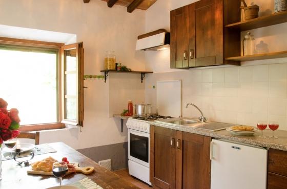 Appartement 15 (2 pers.), een van onze vakantiehuizen in Toscane