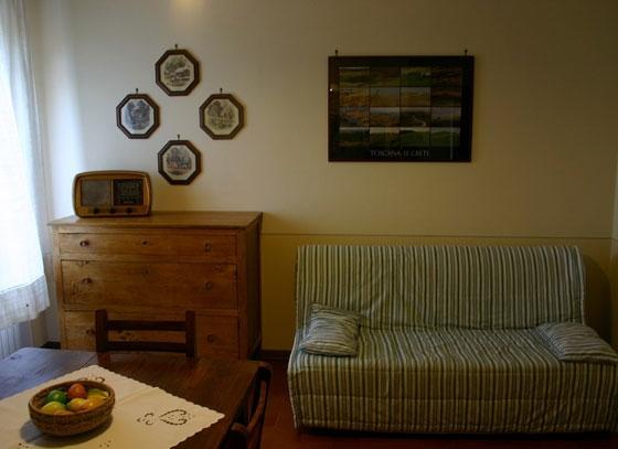 Gli Archi (2 pers.), een van onze vakantiehuizen in Toscane