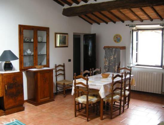 Giaggiolo (7 personen), een van onze vakantiehuizen in Toscane