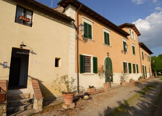Primula (5 personen), een van onze vakantiehuizen in Toscane