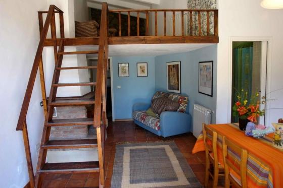 Appartement Glicine (4 pers.), een van onze vakantiehuizen in Toscane