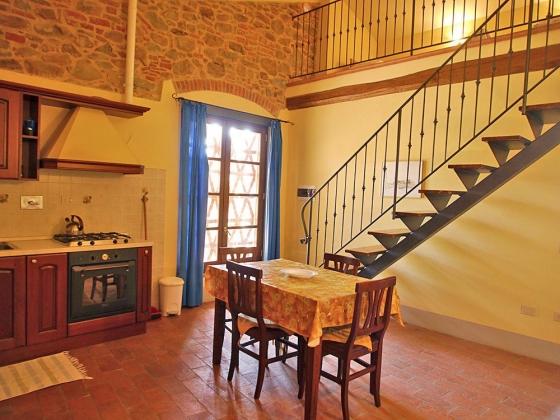 Appartement De Hooizolder (2 tot 6 pers.), een van onze vakantiehuizen in Toscane