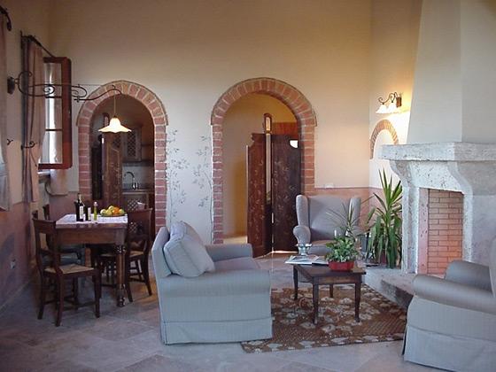 Cipresso (4+2 pers.), een van onze vakantiehuizen in Toscane