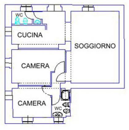 Canneto (4+2 pers.), een van onze vakantiehuizen in Toscane