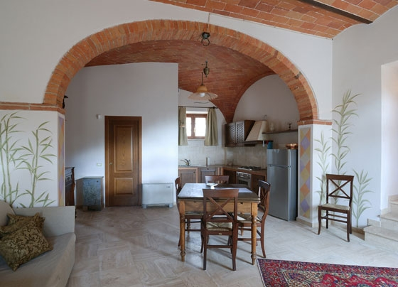 Granaio (4 tot 6 pers.), een van onze vakantiehuizen in Toscane