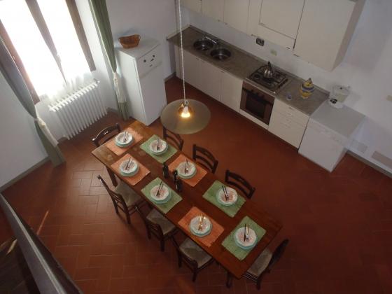 Aurora (8 tot 10 pers.), een van onze vakantiehuizen in Toscane
