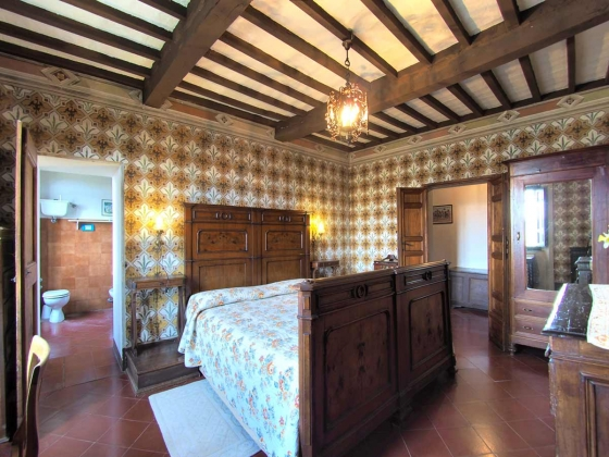 Bischops Toren (8 tot 9 pers.), een van onze vakantiehuizen in Toscane