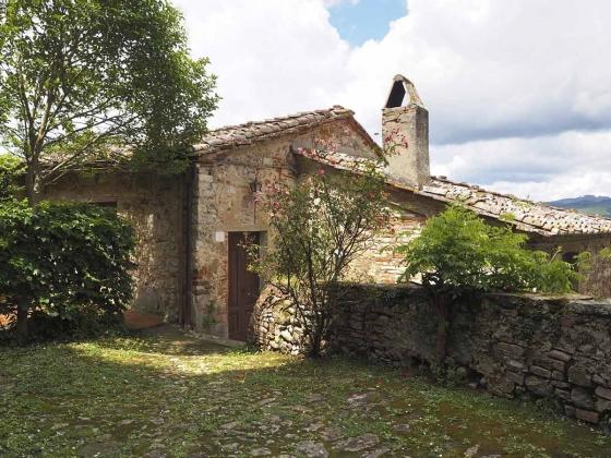 Jachthuis (6 pers.), een van onze vakantiehuizen in Toscane
