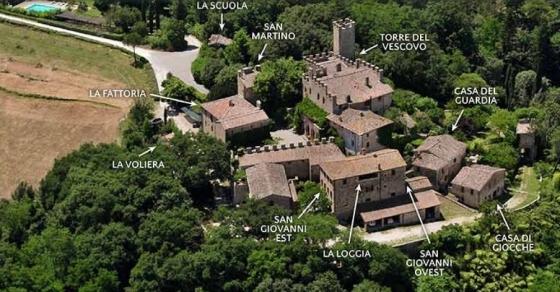 La Voliera (2+1 pers.), een van onze vakantiehuizen in Toscane