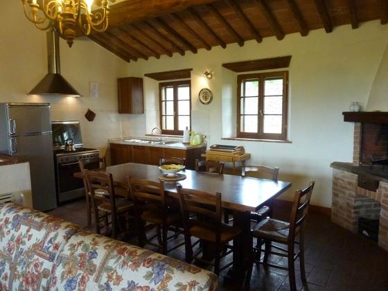 La Loggia (8 tot 16 pers.), een van onze vakantiehuizen in Toscane