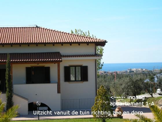 Appartement 1-A, een van onze vakantiehuizen in Toscane