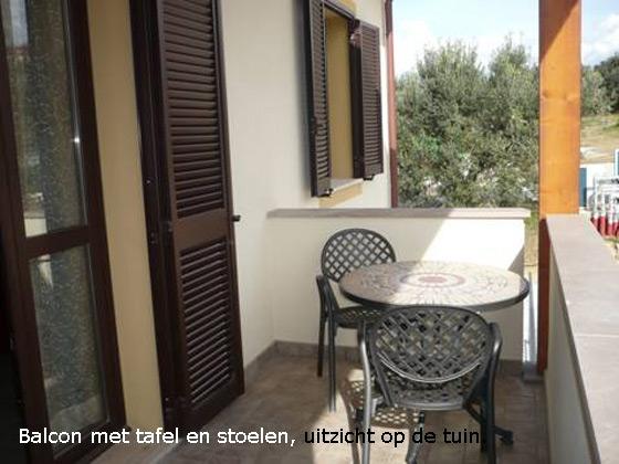 Appartement 8-A, een van onze vakantiehuizen in Toscane