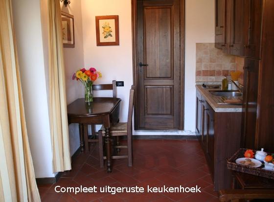 Appartement Nepitella (2 pers.), een van onze vakantiehuizen in Toscane