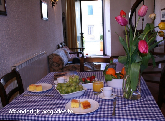 Appartement Giglio (4+2 pers.), een van onze vakantiehuizen in Toscane