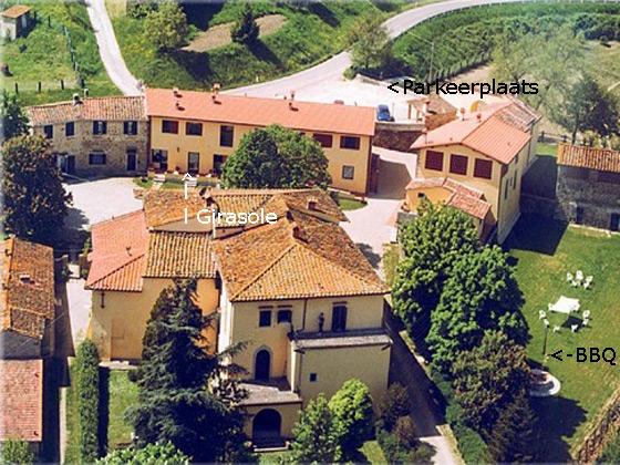 Appartement Girasole (4 pers.), een van onze vakantiehuizen in Toscane