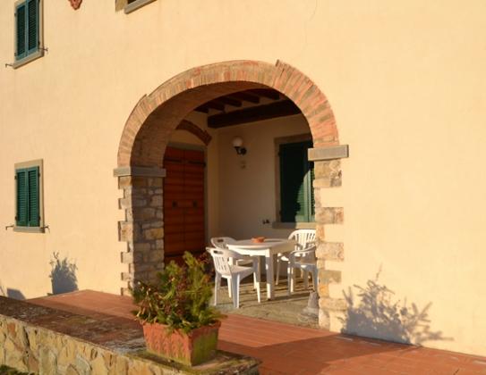 8 Appartementen (4 tot 6 pers.), een van onze vakantiehuizen in Toscane