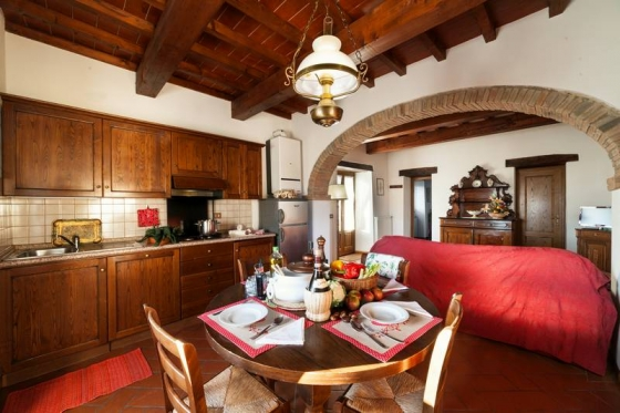 Appartament Olivo (4 tot 6 pers), een van onze vakantiehuizen in Toscane